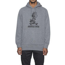 【残り僅か】HUF X PIGPEN SWEAT HOODIE (GREY HEATHER)