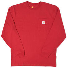 【ラス1】Carhartt L/S pocket tee (Red)