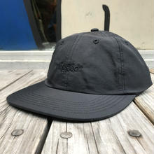 "【ラス1】RUGGED ""rugged""  nylon shallow cap (Black × Black)"
