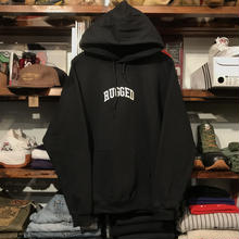 "【残り僅か】RUGGED ""SMALL ARCH"" sweat hoodie (Black/8.0oz)"