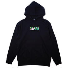 "【ラス1】AnotA × ANDSUNS ""POX"" sweat hoody(10oz./BLK)"