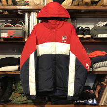 【残り僅か】FILA Down mountain parka (Red)