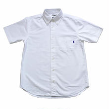 RUGGED s/s oxford shirt(White)