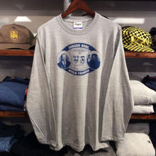 【残り僅か】RUGGED ''RUGGED BROS'' L/S tee(5.6oz./Gray)