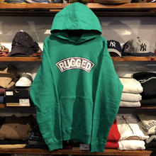RUGGED on Nitrow ''SUPER HIGRADE'' sweat hoodie(Green / size : XXL)
