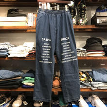 "RUGGED on vintage ""SAT/IND"" easy denim (L) ③"