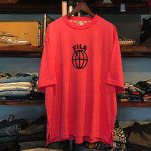 【残り僅か】FILA ball logo tee(Pink)