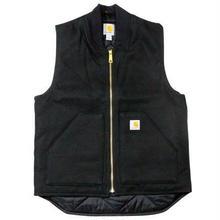【残り僅か】Carhartt ARCTIC QUILT LINE Duck vest (Black)