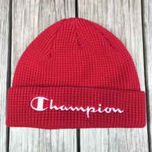【ラス1】Champion logo beanie (Red)