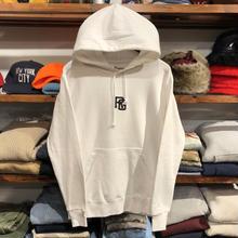 """【ラス1】RUGGED """"TOKYO JOINTS"""" sweat hoodie(9.4oz./White×Black)"""