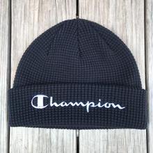 【ラス1】Champion logo beanie (Black)