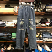 "RUGGED on vintage ""SAT/IND"" easy denim (L) ①"