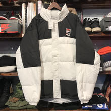 【残り僅か】FILA hooded down mountain parka (White)