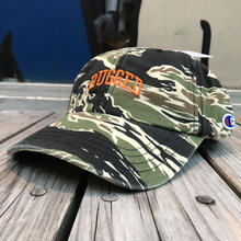 "【残り僅か】RUGGED on Champion ""SMALL ARCH"" adjuster cap(Tiger Camo)"