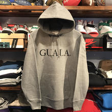 GUALA logo sweat hoody (12.7o.z/Gray)