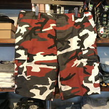 【ラス1】ROTHCO color camo shorts(Red Camo)