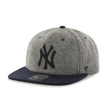 【残り僅か】'47 CAPTAIN Hempstead SNAPBACK (Gray × Navy)