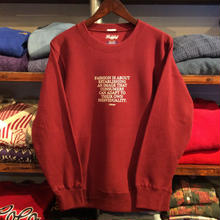 "【残り僅か】RUGGED ""Mister"" sweat (12.0 oz/Burgundy)"