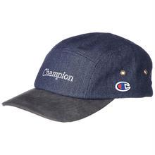 【ラス1】Champion denim leather jet cap(Indigo)
