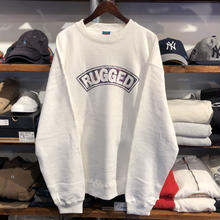 RUGGED on Nitrow ''SUPER HIGRADE'' sweat (White / size : XXL)