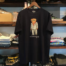 "【残り僅か】RUGGED ""POLO JINGI"" tee (Navy/Suits)"