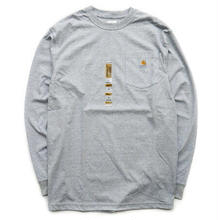 Carhartt L/S pocket tee (Gray)