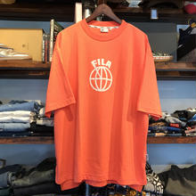 FILA ball logo tee(Orange)