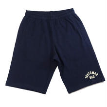 "RUGGED ""TOKYO MAD RGD "" sweat shorts(Navy×Cream)"