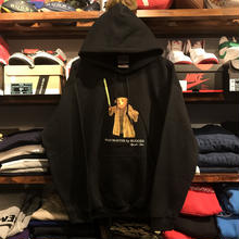 "【残り僅か】RUGGED ""POLO MASTER""light sweat hoody (8.0oz./Black)"
