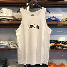 "【残り僅か】RUGGED ""SMALL ARCH"" tanktop(White)"
