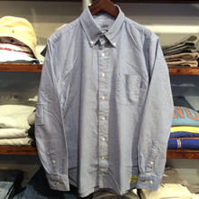 【残り僅か】RUGGED B.D oxford shirt(Blue)