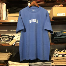"【ラス1】RUGGED on vintage ""SMALL ARCH"" tee (Blue)"