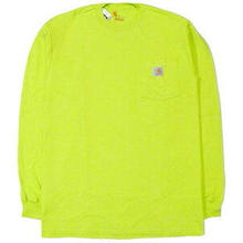 【ラス1】Carhartt L/S pocket tee (Lime Green)