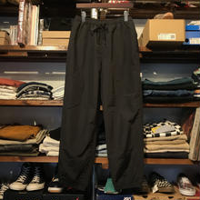 【残り僅か】FILA nylon logo pants (Black)