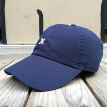 "【残り僅か】RUGGED ""OLD R"" adjuster cap (Navy)"