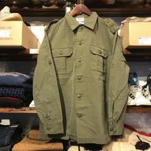 """RUGGED on Vintage """"POLO SMOKE"""" military shirt (S)①"""