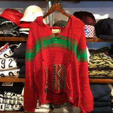 "【ラス1】DENIM&SUPPLY  ""Native"" Knit Parka(Red)"