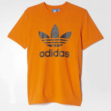 【残り僅か】adidas originals logo tee (Pumpkin)