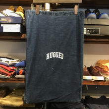 "【ラス1】RUGGED on vintage ""small arch"" laundry bag"
