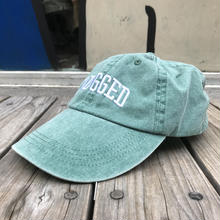 【ラス1】RUGGED ''ARCH LOGO'' adjuster cap (Light Green)