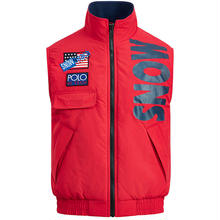 "【Exclusive】POLO RALPH LAUREN ""SNOW BEACH "" VEST (Red)"