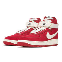 "【ラス1】NIKE ""AIR FORCE 1 HIGH RETRO (GYM RED/SAOL-BLACK)"