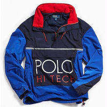 "【ラス1】POLO RALPH LAUREN ""HI-TECH"" nylon jacket"