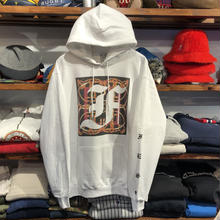 "【ラス1】FESC on Champion ""F-LOGO"" sweat hoodie(White)"