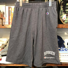 "【残り僅か】RUGGED on Champion ""ARCH LOGO"" light shorts (Navy)"
