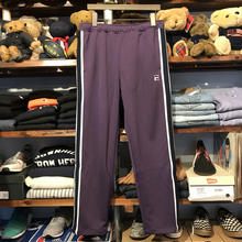 【ラス1】FILA line box logo truck pants (Purple)