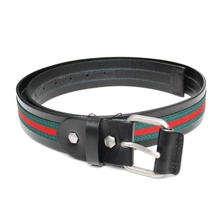 【ラス1】RAISE8 APPAREL leather belt (Black)