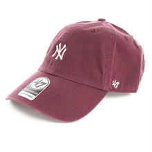 【残り僅か】'47 CLEAN UP Yankees Base Runner adjuster cap (Dark Maroon)