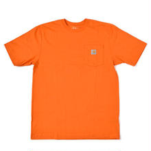 【ラス1】Carhartt pocket tee (Orange)