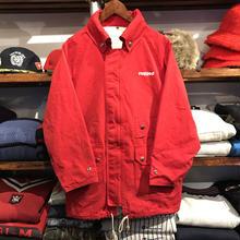 """RUGGED on vintage """"ARCH LOGO"""" nylon jacket"""